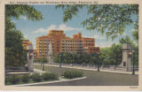 Delaware Hospital and Washington Street Bridge, Wilmington, Delaware