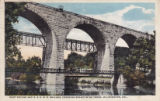 Foot Bridge and B.&O. R. R. Bridges, Crossing Brandywine Creek, Wilmington, Delaware