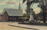 Garfield's Monument and the Church of the New Jerusalem, Wilmington, Delaware