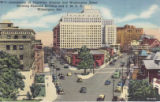 Intersection of Delaware Avenue and Washington Street Showing Nemours Building and Y. M. C. A. ...