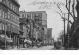 Market Street, looking north from Eighth Street, Wilmington, Delaware