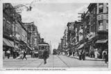 Market Street North from Fourth Street, Wilmington, Delaware