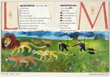 "Painting for ""A For The Ark"" by Roger Duvoisin (NY: Lothrop, Lee & Shepard, c1952)"