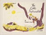 "First rough of a book jacket for ""The Little Naturalist"""