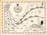 "Drawing map for ""The Delaware Citizen"""