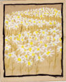 Painting of daisy-like flowers