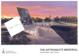 The Astronauts Memorial. From the scrapbook of the family of Theodore Freeman.