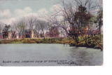 Silver Lake, Showing View of Crows Nest Milford, Delaware