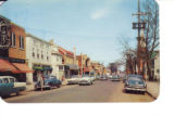 Scene of Main Street, Newark, Delaware