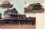 Atlantic Hotel, Hotel Townsend, and Hotel Henlopen, Rehoboth Beach, Delaware