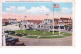 Rehoboth Avenue showing band stand and green, Rehoboth Beach, Delaware