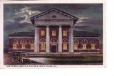 New Pennsylvania R. R. Station at Night, Dover, Delaware