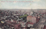 Bird's-eye View looking west from Du Pont Building, Wilmington, Delaware