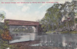 Old Covered Bridge over Brandywine at Rising Sun, Near Wilmington, Delaware