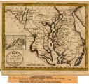 1325-203 State Map Collection Map of the States of Maryland and Delaware 1796