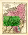 1325-203 State Map Collection Delaware and various other states 1830