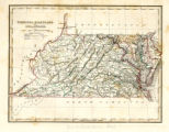 1325-203 State Map Collection Delaware and various other states 1835