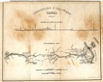 1325-203 State Map Collection Chesapeake and Delaware Canal 1841