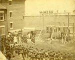 Hanging of Lincoln assassination co conspirators