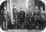 Color Guard of 1st Delaware Regiment