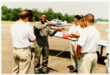 DSU aviation students discuss flight maneuvers