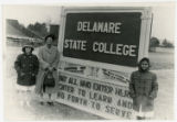 Delaware State Unversity Campus Sign