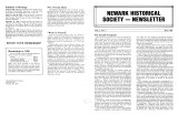 Newark Historical Society Newsletter, May 1983