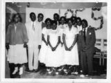 Eighth grade commencement, 1955