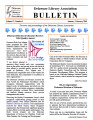 DLA Bulletin Volume 57, Number 1