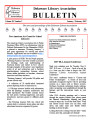 DLA Bulletin Volume 59, Number 1