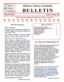DLA Bulletin Volume 60, Number 1