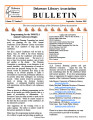 DLA Bulletin Volume 57, Number 5