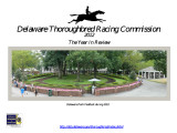 Delaware Thoroughbred Racing Commission, 2012, The Year in Review