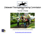 Delaware Thoroughbred Racing Commission, 2014, The Year in Review