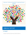 Governor's Advisory Council for Exceptional Citizens Annual Report FY 2017