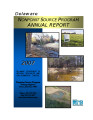 2007 Nonpoint Source Program Annual Report
