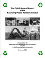 The Eighth Annual Report of the Recycling Public Advisory Committee
