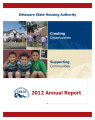 2012 Delaware State Housing Authority Annual Report